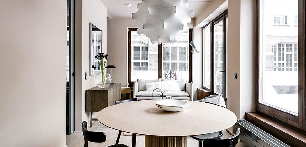 Note Design Studio: компактные квартиры в Стокгольме