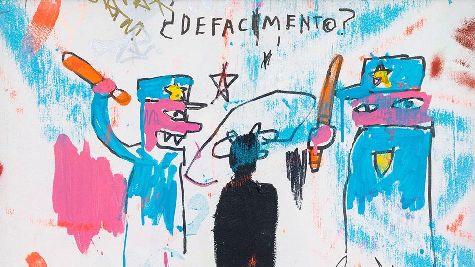 Протестное искусство Баскии в Музее Гуггенхайма