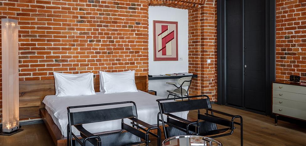 Brick Design Hotel: первый в Москве