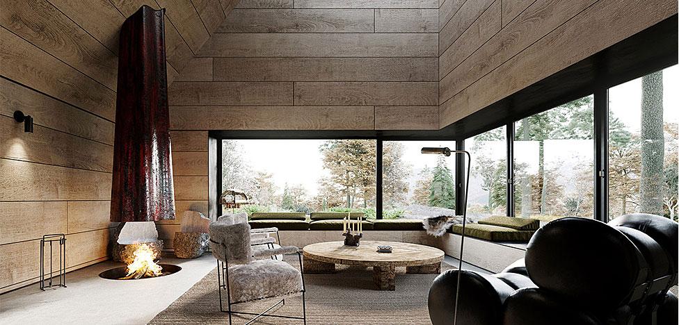 Corpus Studio: дом в Катскильских горах