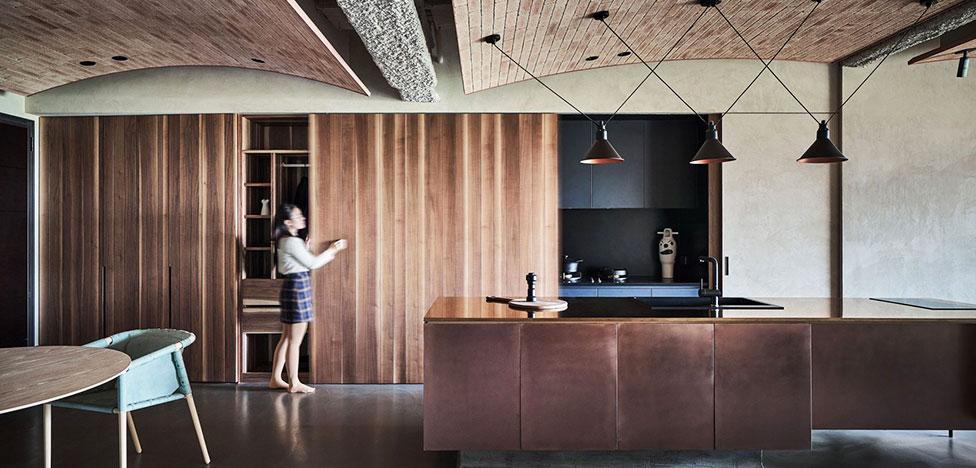 KC Design Studio: лофт со сводчатым потолком