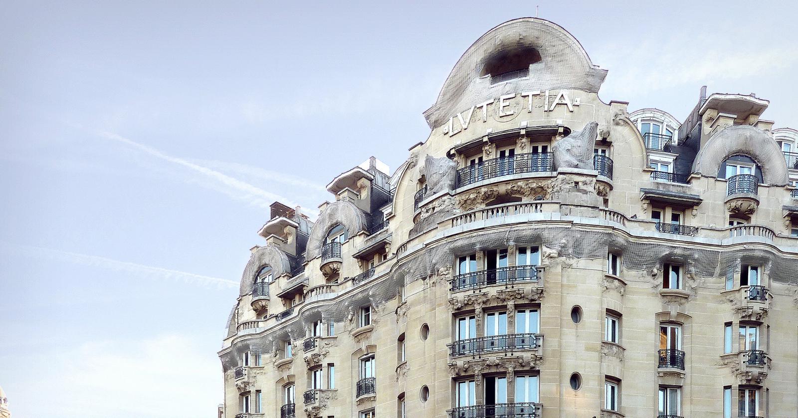 Отель Lutetia открыт после реконструкции