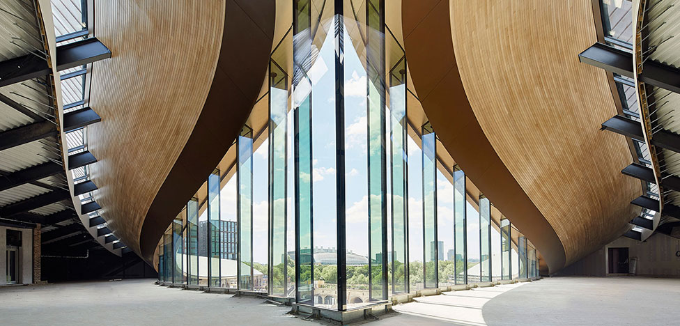 Томас Хизервик спроектировал торговый центр в Лондоне
