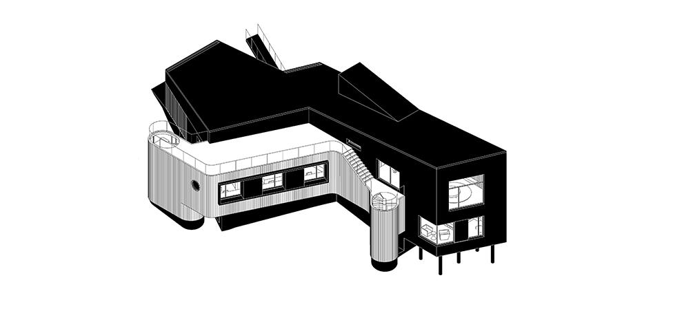 Проект Le Atelier: деревянный дом в Подмосковье