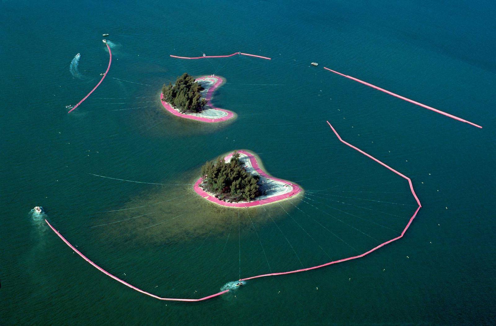 Христо и розовые острова Майами