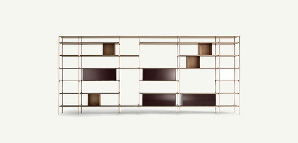 Стеллаж. 33 варианта для гостиной и кабинета