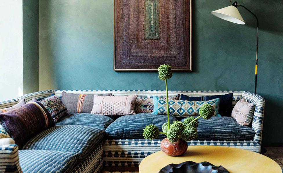 Келли Уэстлер оформила интерьеры отеля в Лос-Анджелесе