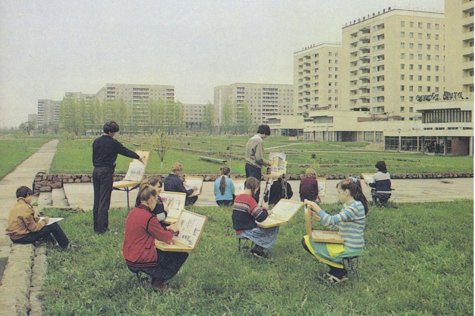 Советская архитектура в издательстве Fuel