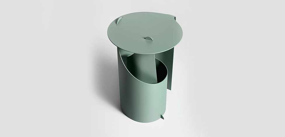 Альдо Баккер: стол для Karakter