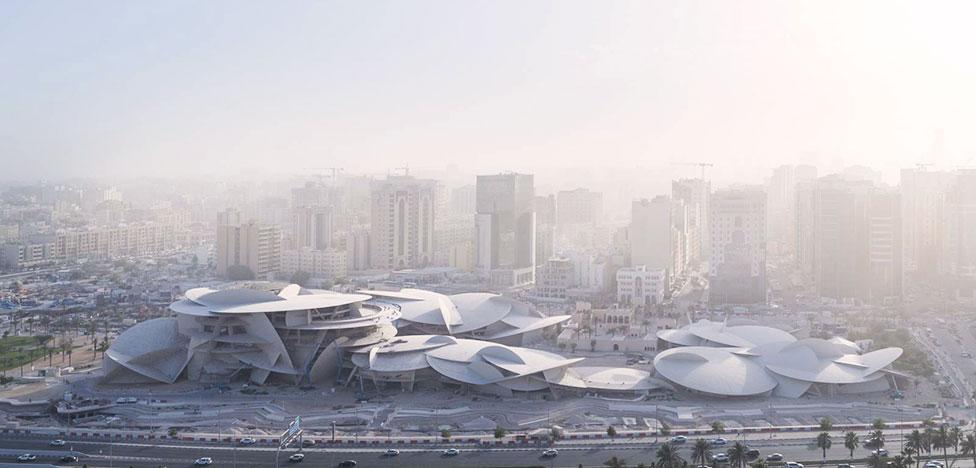 Жан Нувель построил музей в Катаре