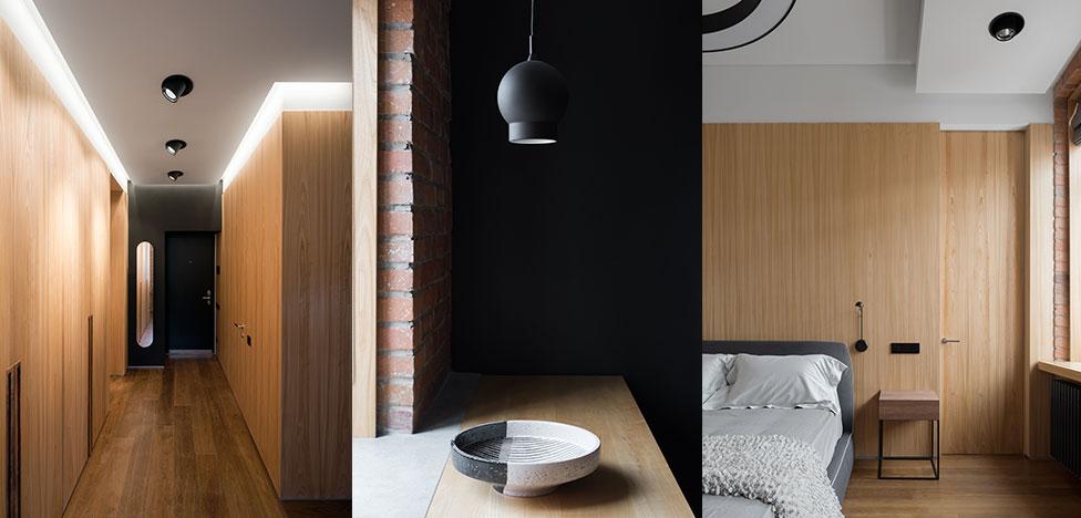 Квартира в арбатских переулках по проекту Gikalo Kuptsov Architects