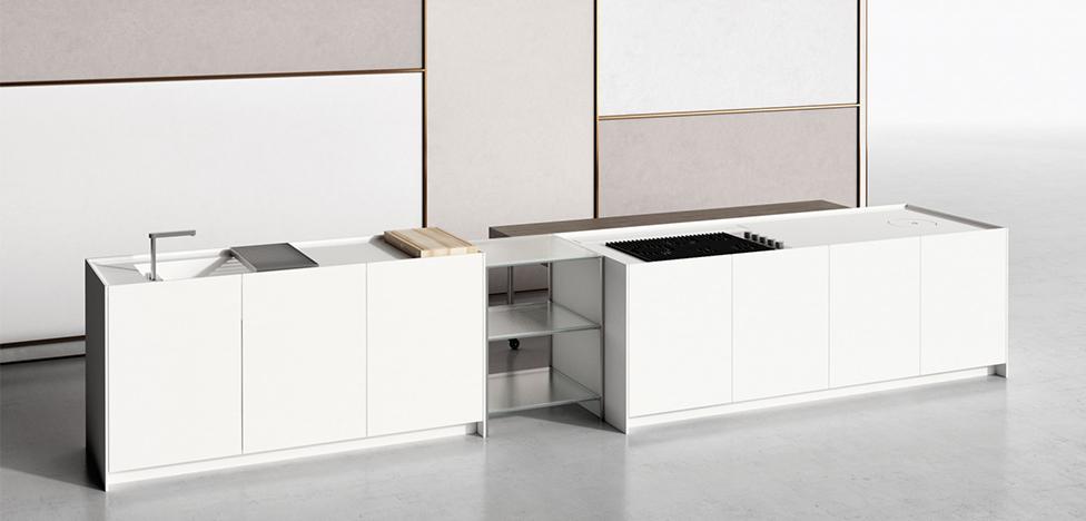 Пьеро Лиссони: гибкие решения для кухни