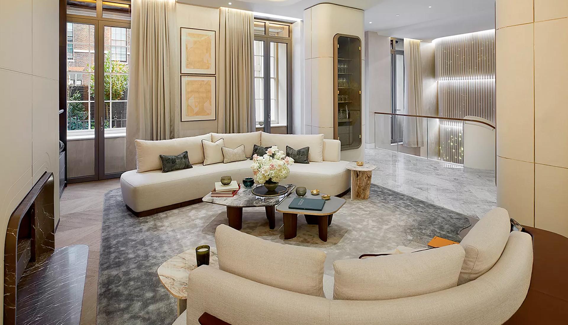 Jouin Manku: интерьеры для жилого комплекса в Лондоне