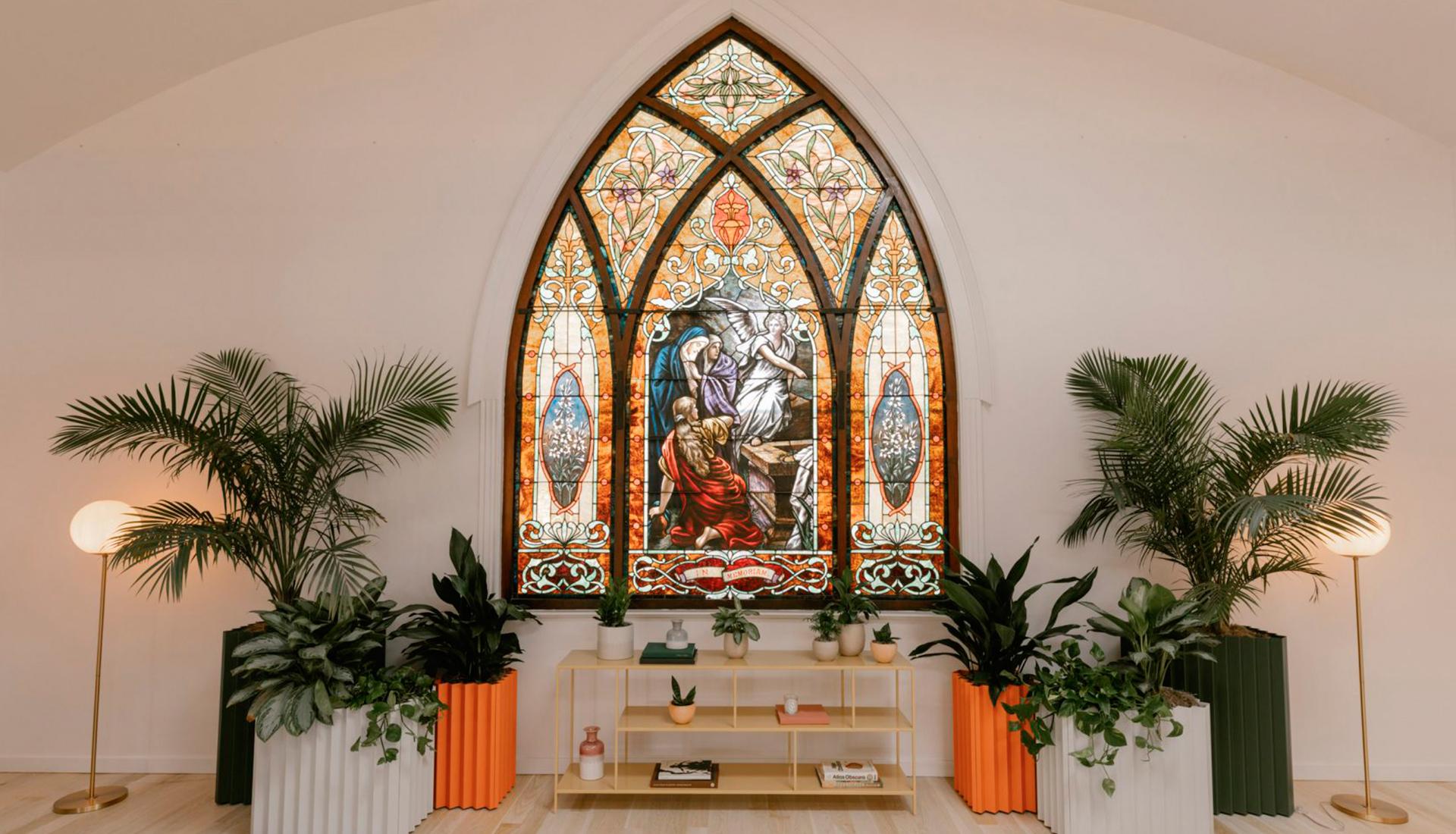 Коворкинг в бывшей церкви в Лос-Анджелесе