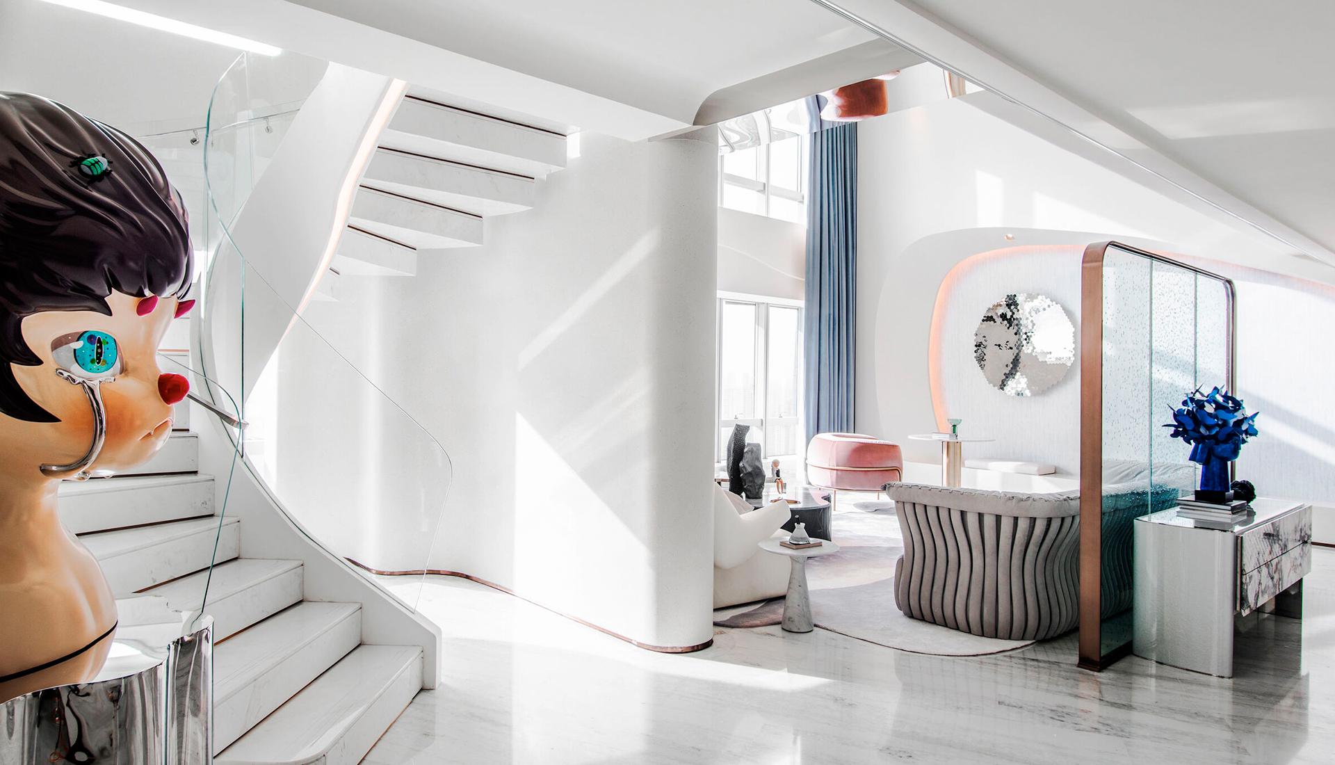 T.K.Chu Design: модельная квартира в курортном комплексе