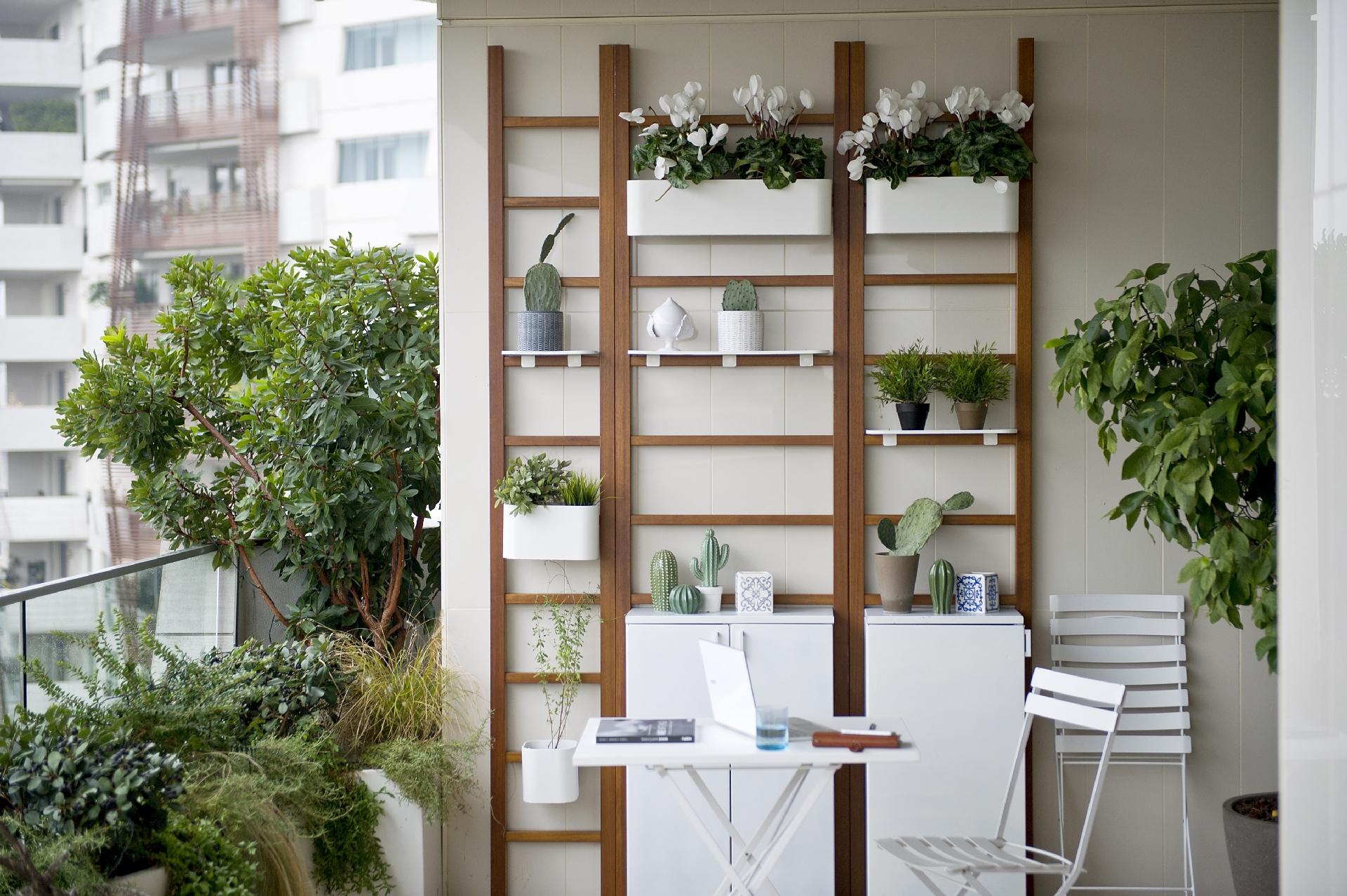 Тренды 2020/2021: сад и домашний офис на балконе
