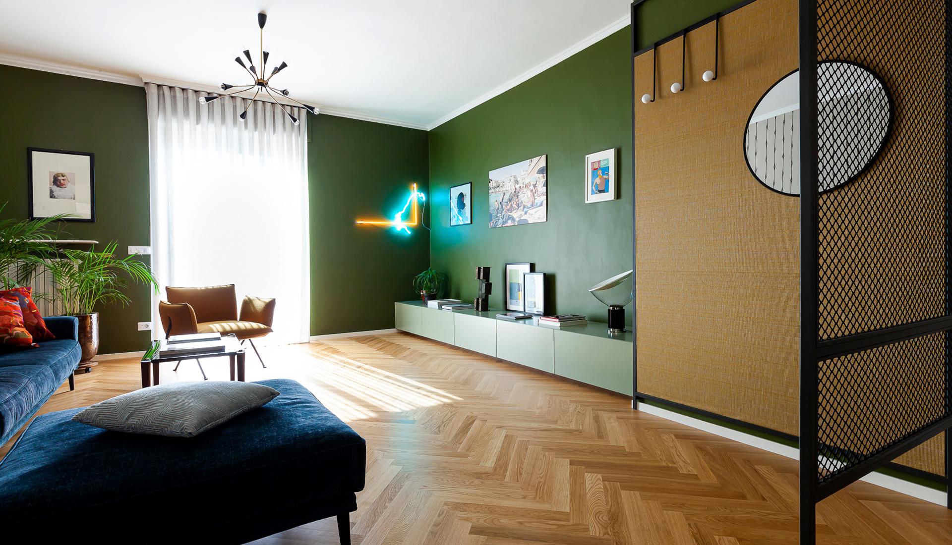 Pleroo Design Studio: квартира для семьи дизайнера