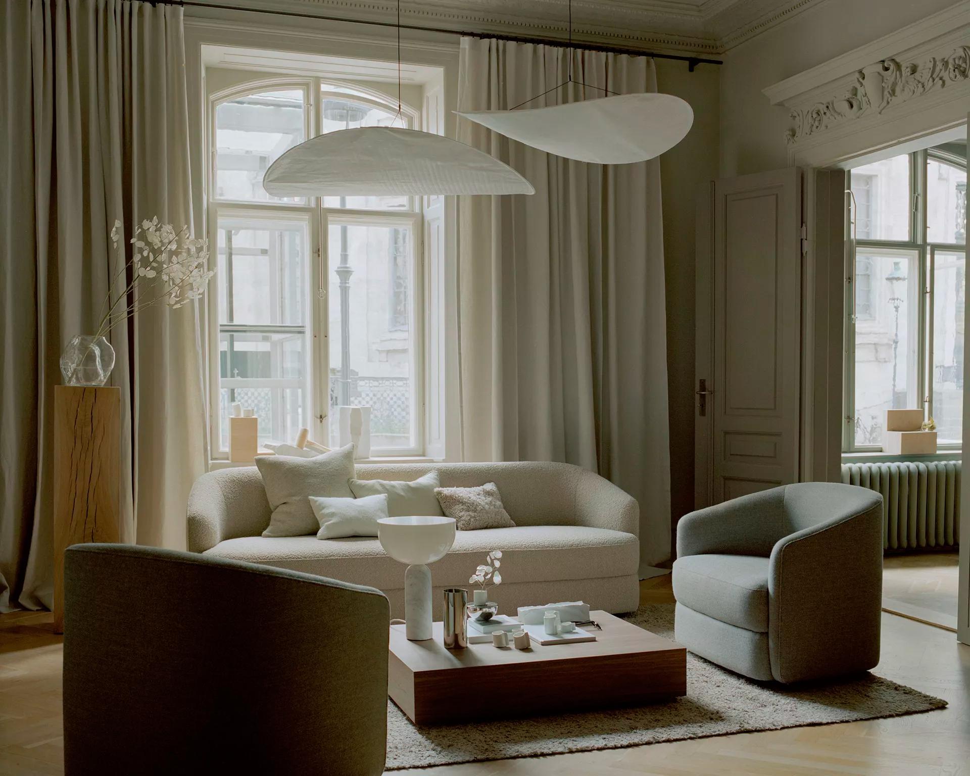 Скандинавский интерьер: 10 спокойных гостиных