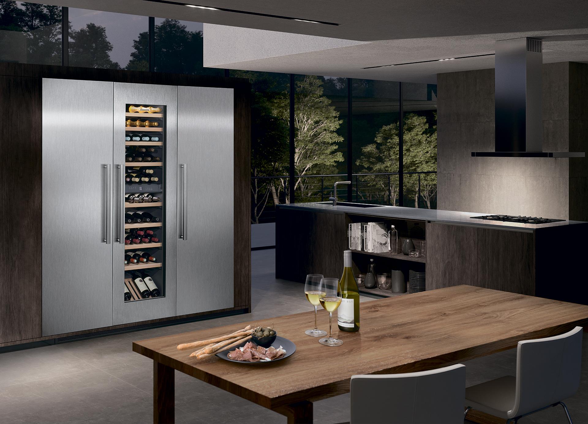 Liebherr: новое поколение встраиваемых холодильников