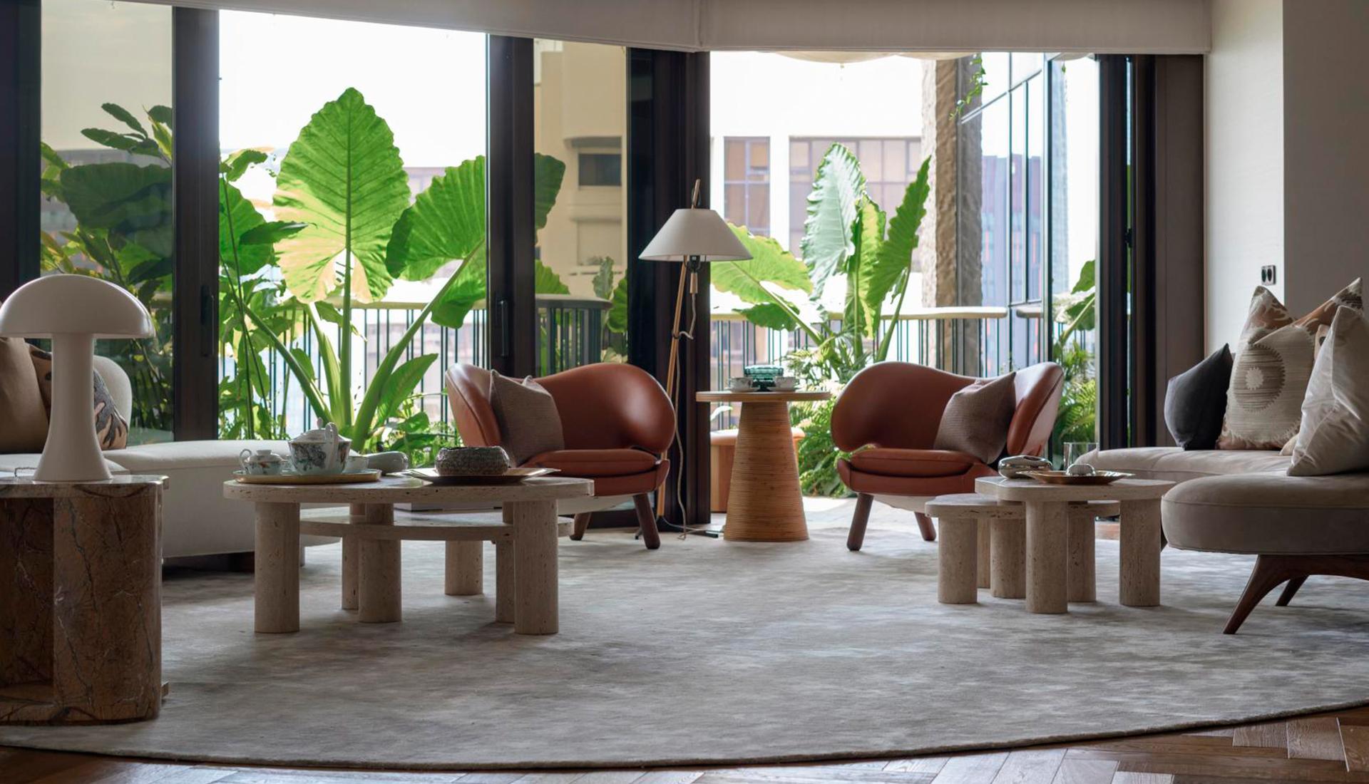 Brewin Design Office: модельная квартира в Сингапуре