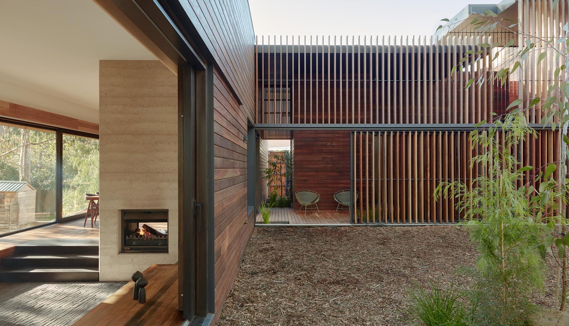 Breathe Architecture: дом на берегу ручья в Виктории