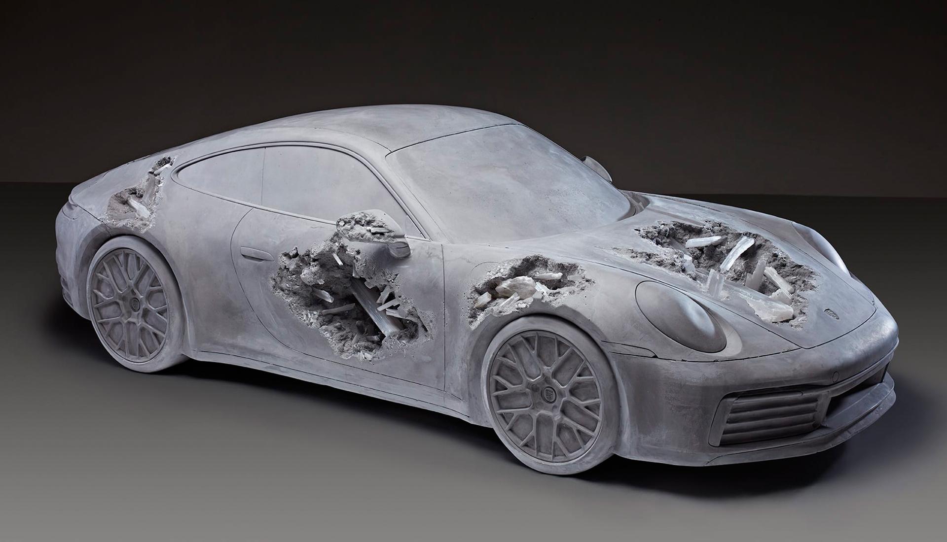 Разрушенный Porsche Дэниела Аршама