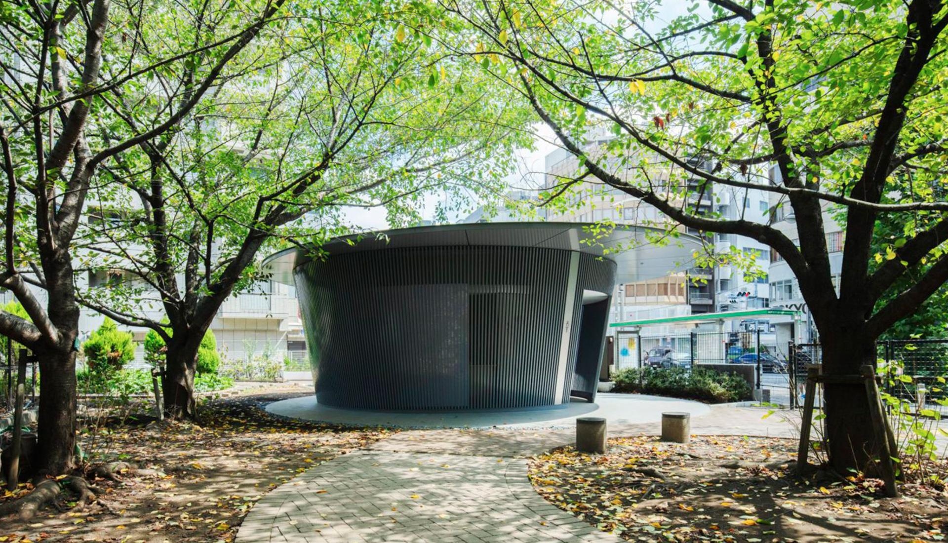 Тадао Андо: общественный туалет в Токио