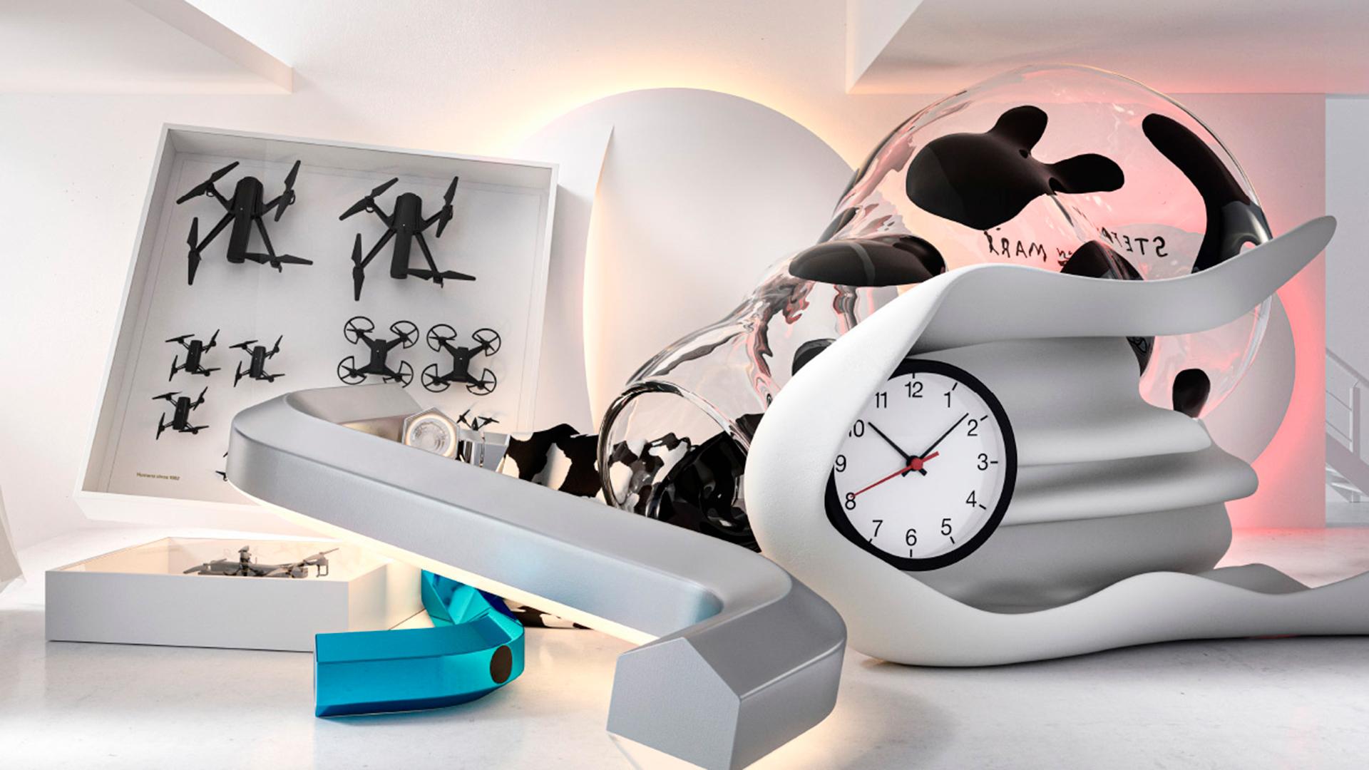 Тренды 2020/2021: часы Дэниела Аршама и светильники Сабин Марселиз в капсульной коллекции