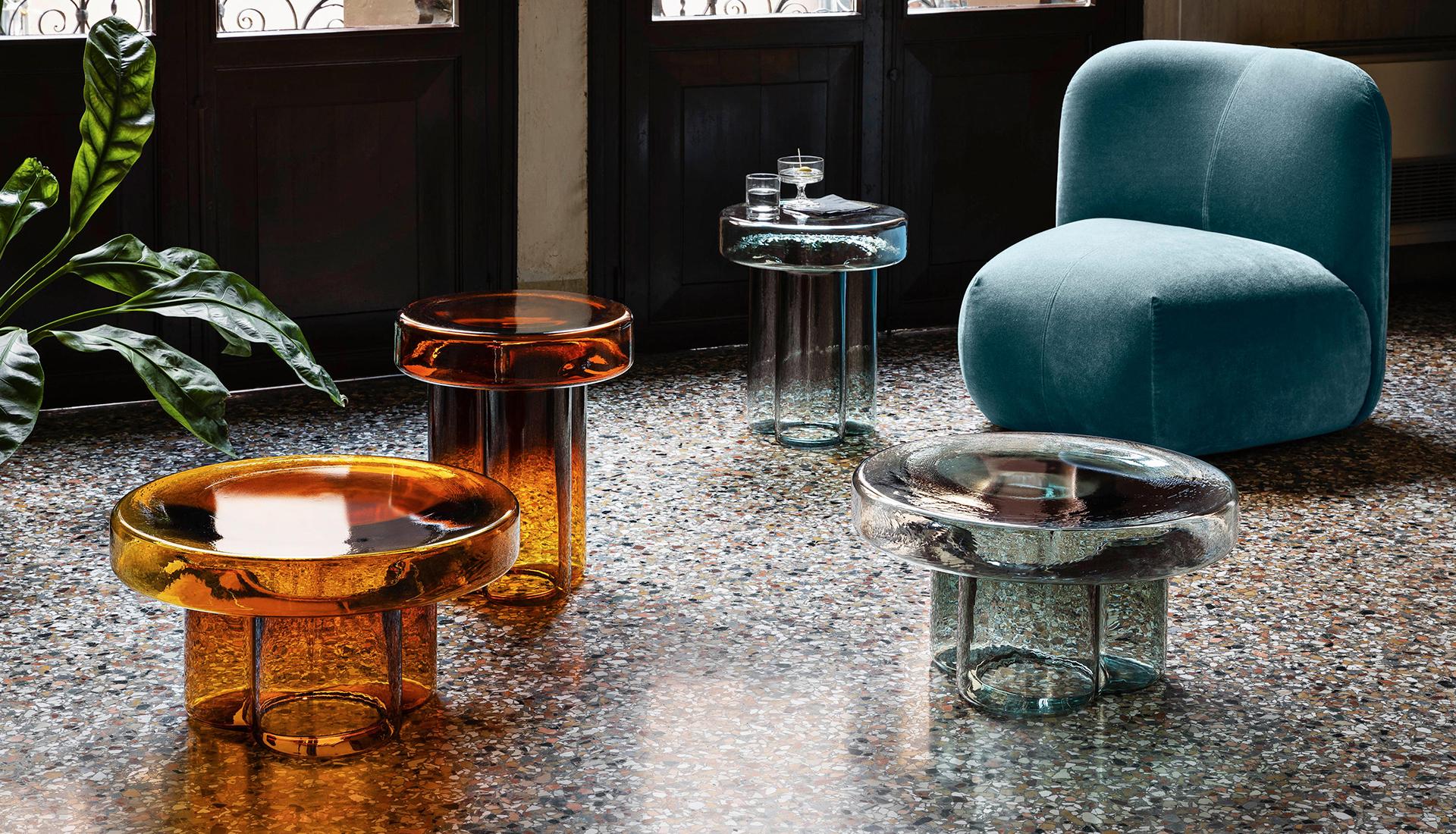 Тренды 2020/2021: стеклянные столы Янниса Гикаса
