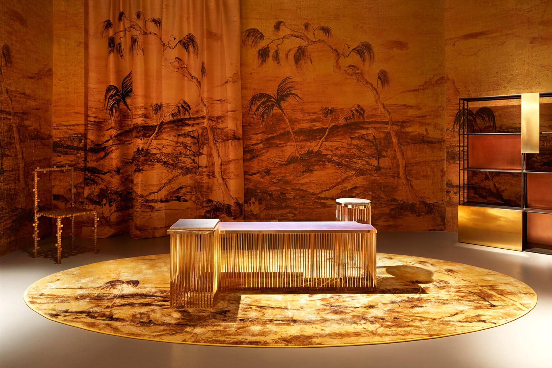 Шелковые гобелены Федерики Пераццоли в галерее Nilufar