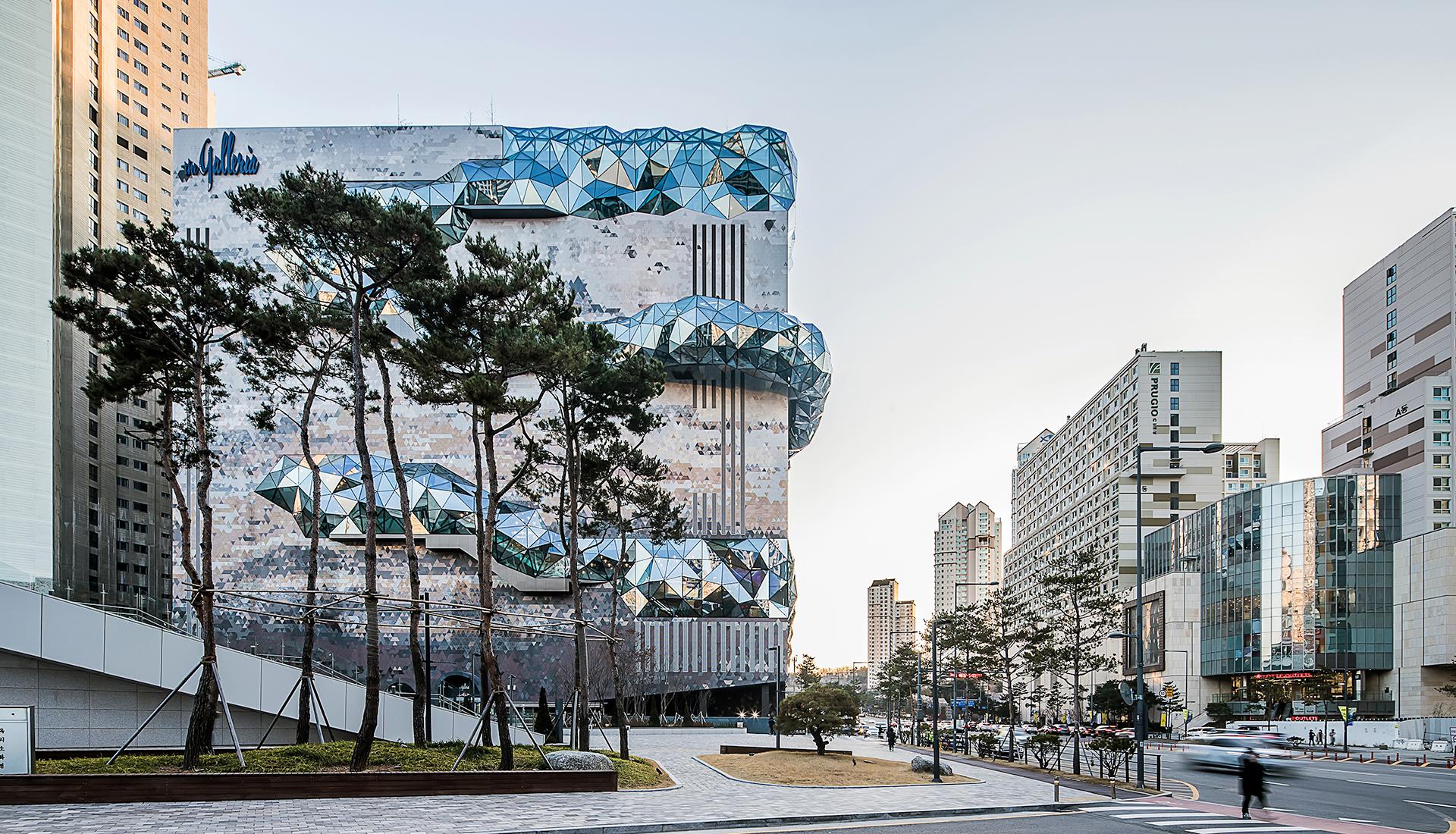 OMA: торговый центр в Корее