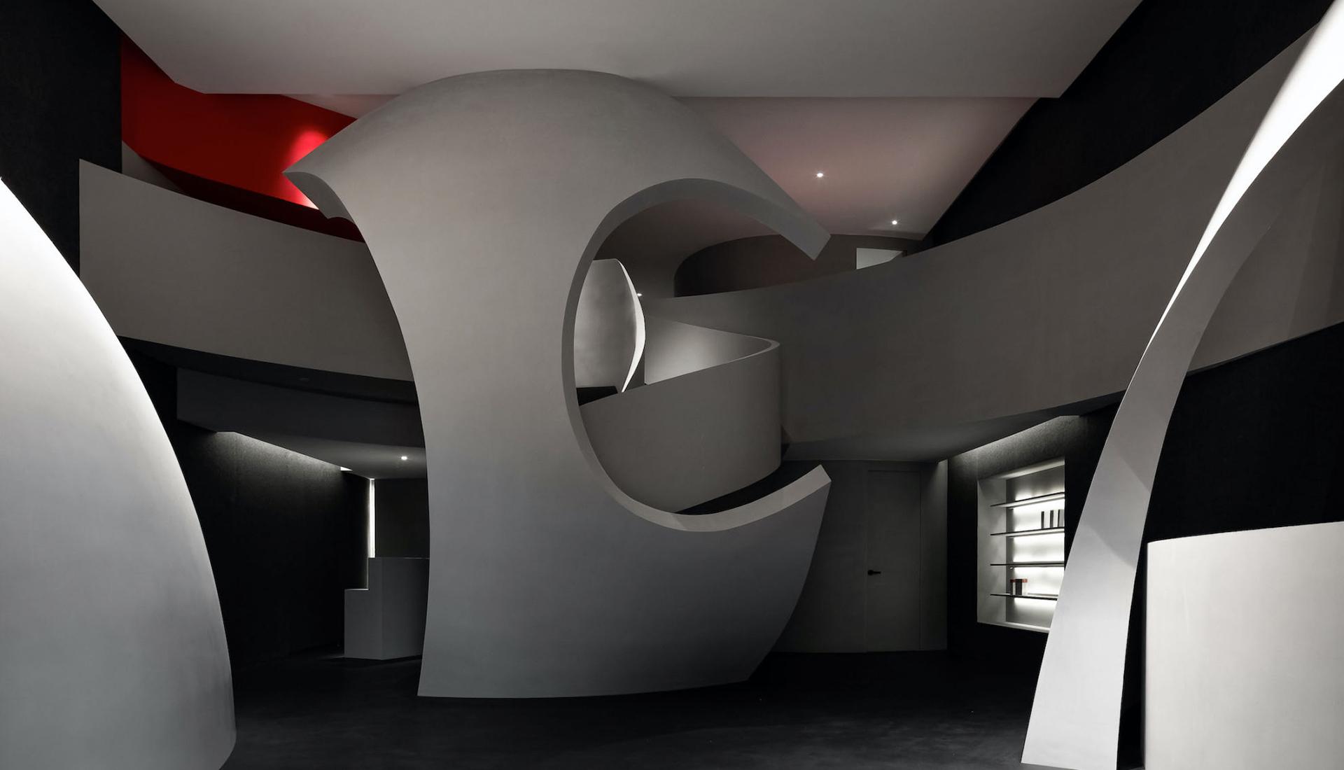 AD Architecture: эффектный центр красоты в Харбине