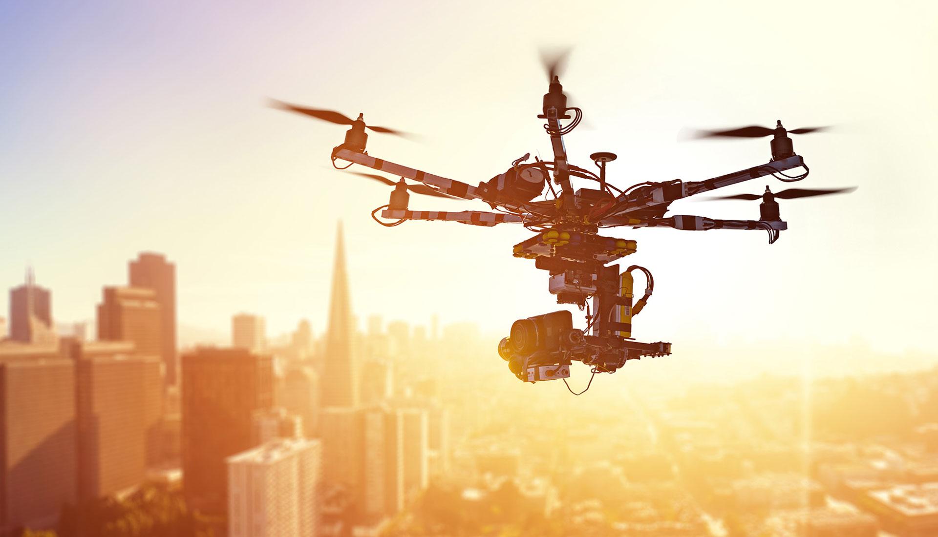 Нью-Йорк будет использовать беспилотники для осмотра зданий