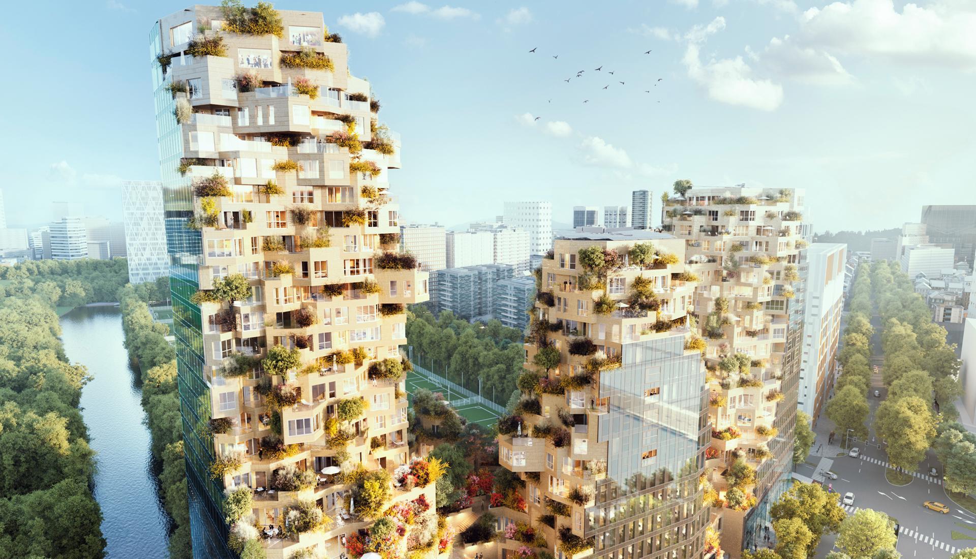Архитектура будущего: зеленые города