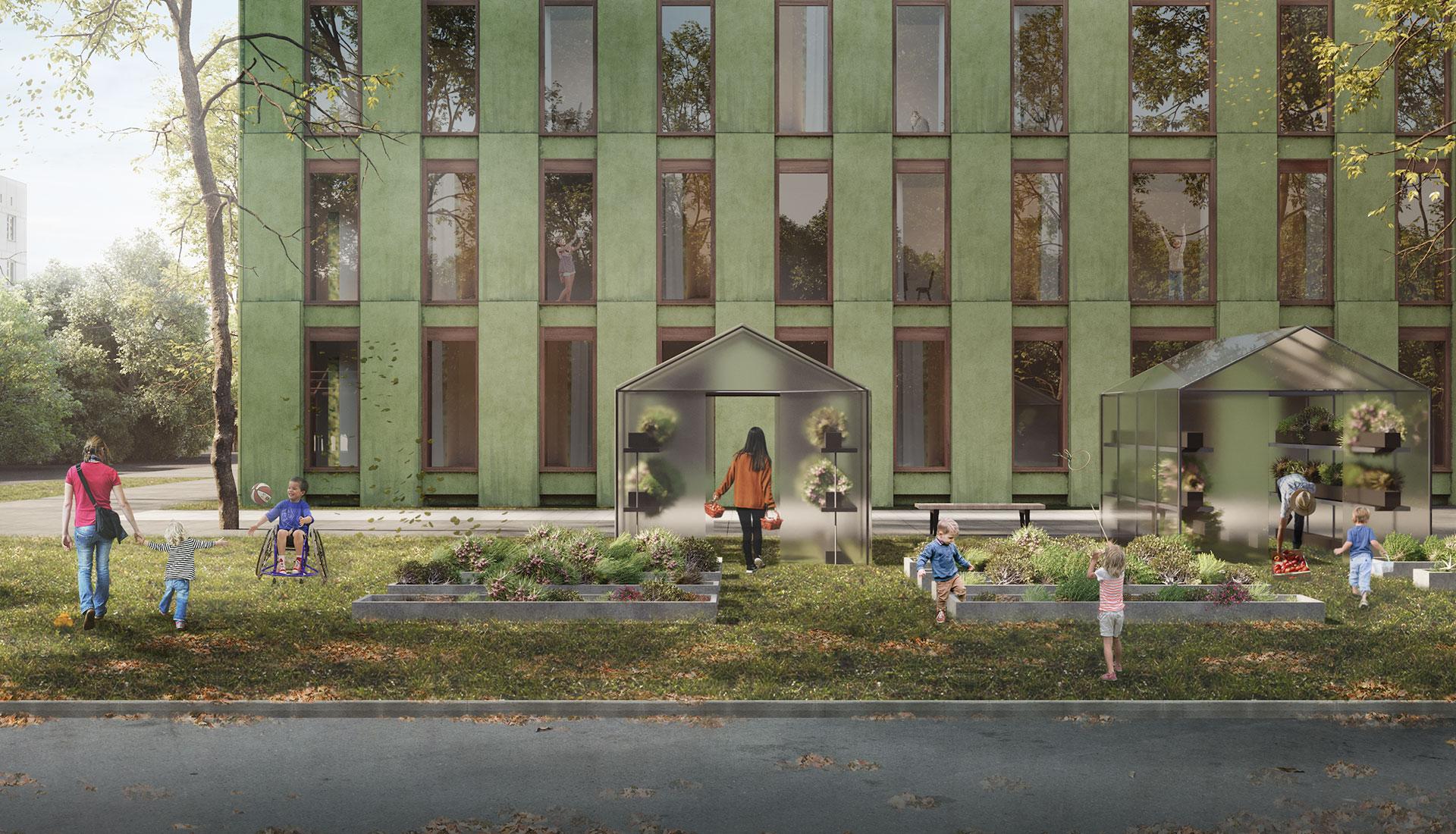 IND architects построят отель для семей с онкобольными детьми