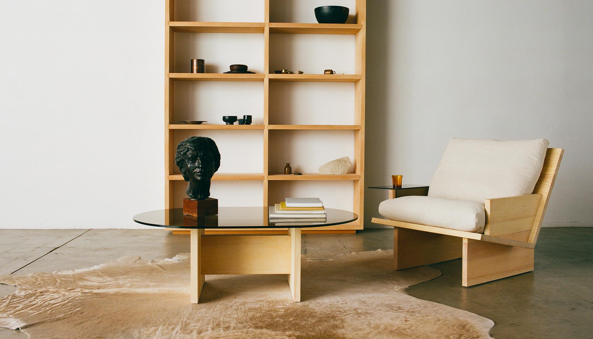 Простая сосновая мебель Kalon