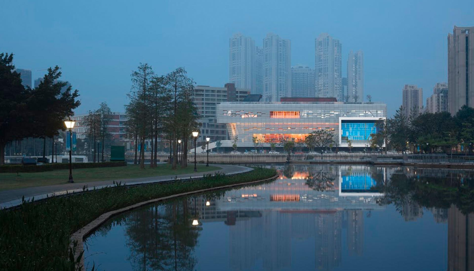 OPEN Architecture: культурный центр в Шэньчжэне