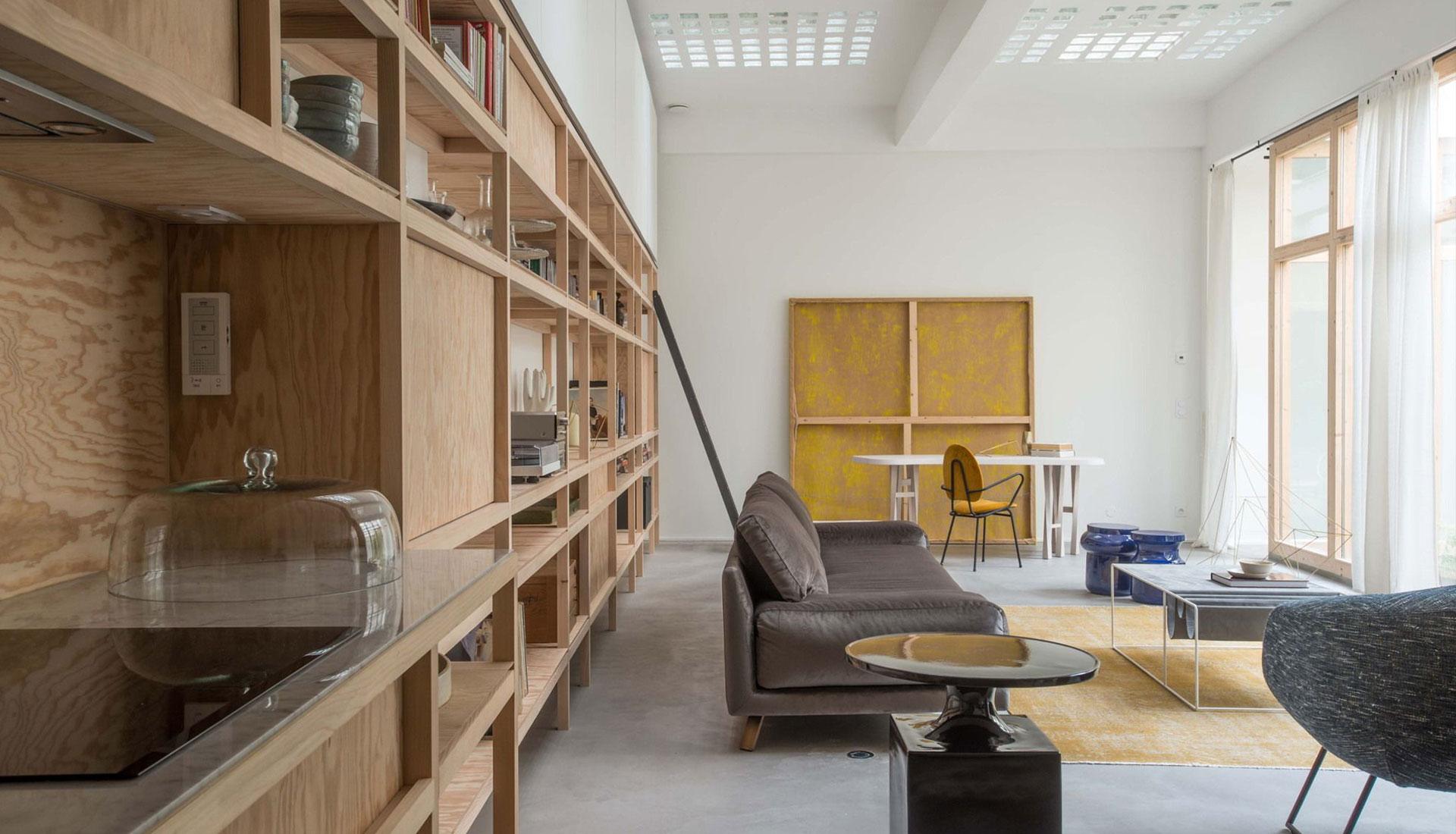 Гийом Терве: парижский лофт вместо склада