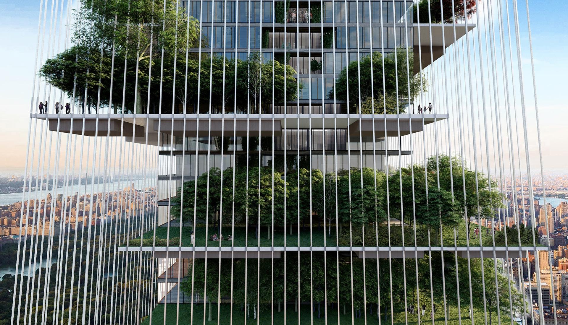 Lissoni Casal Ribeiro: вертикальный город-сад в Нью-Йорке