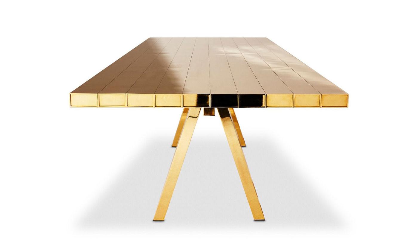 Золотой стол Тома Диксона