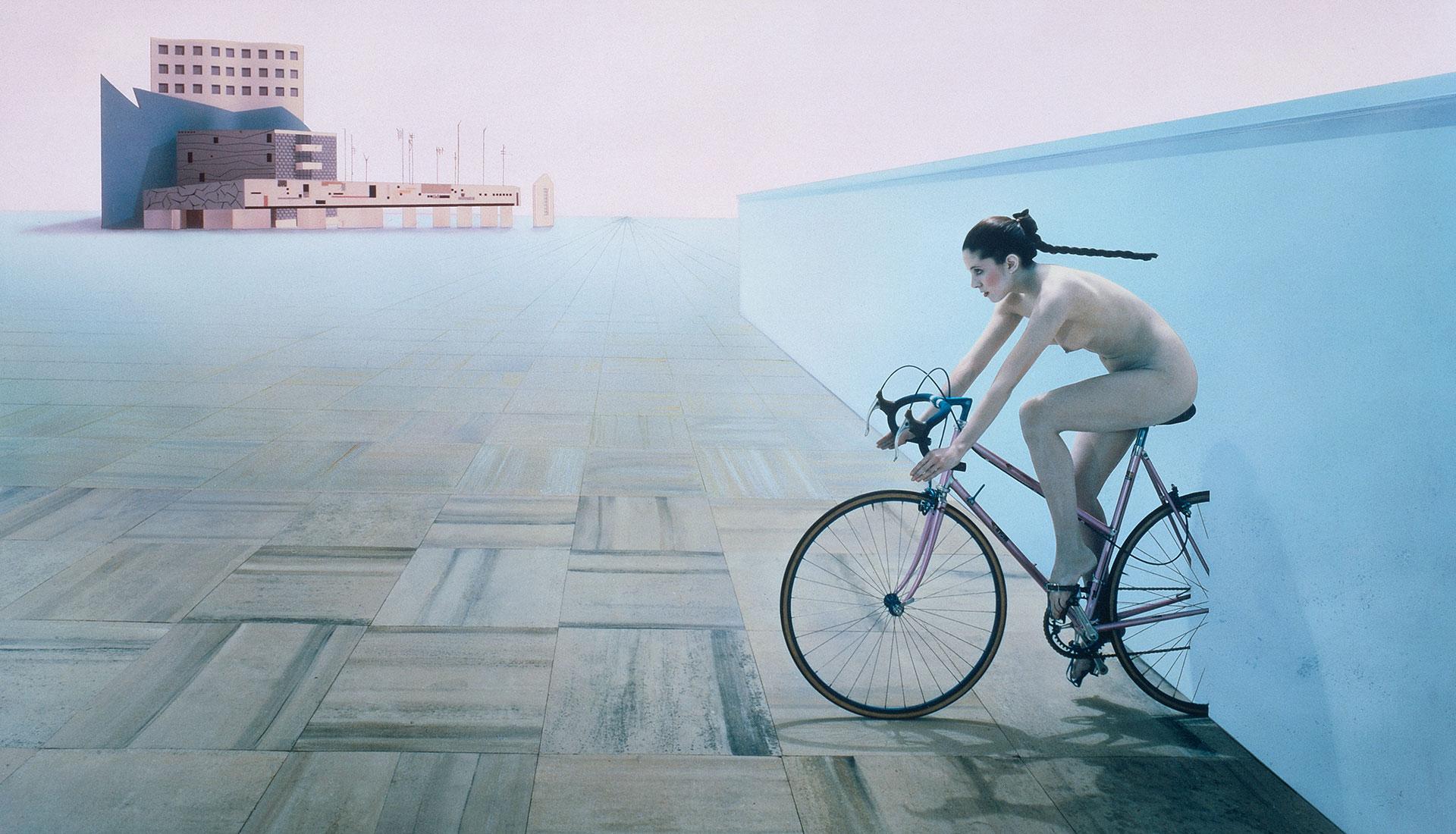 Искусство и велосипеды: выставка в миланской галерее Антонио Коломбо