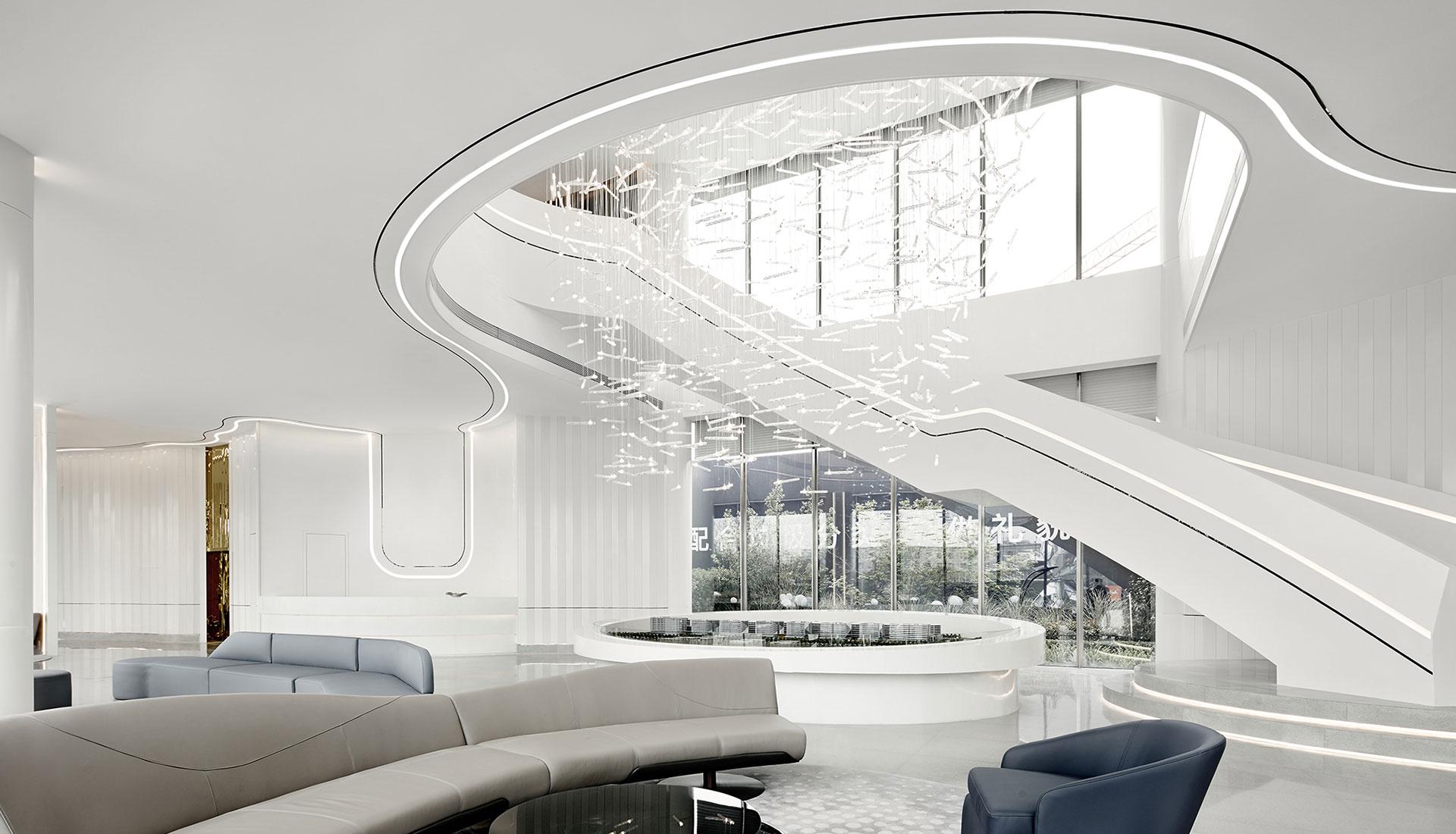 Центр продаж в Ханчжоу по проекту архитекторов GFD