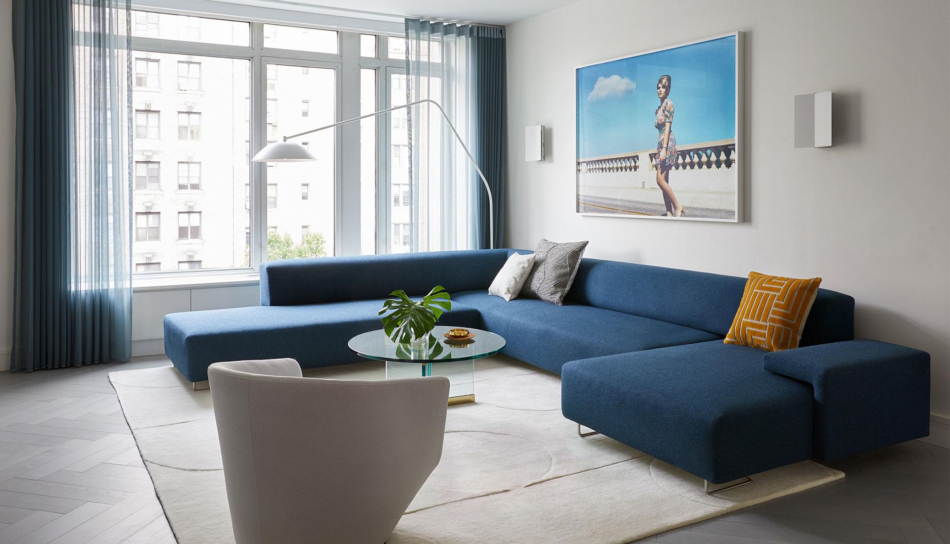 Frederick Tang Architecture: объединение двух квартир в Нью-Йорке