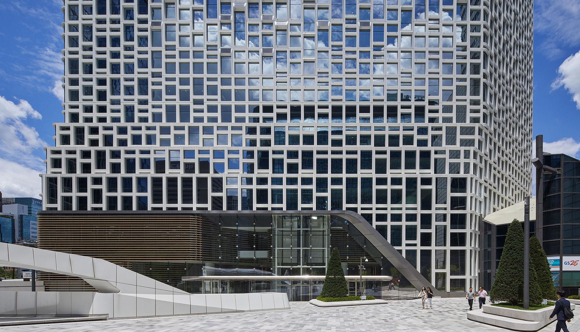 UNStudio: новый облик штаб-квартиры Hanwha Group в Сеуле