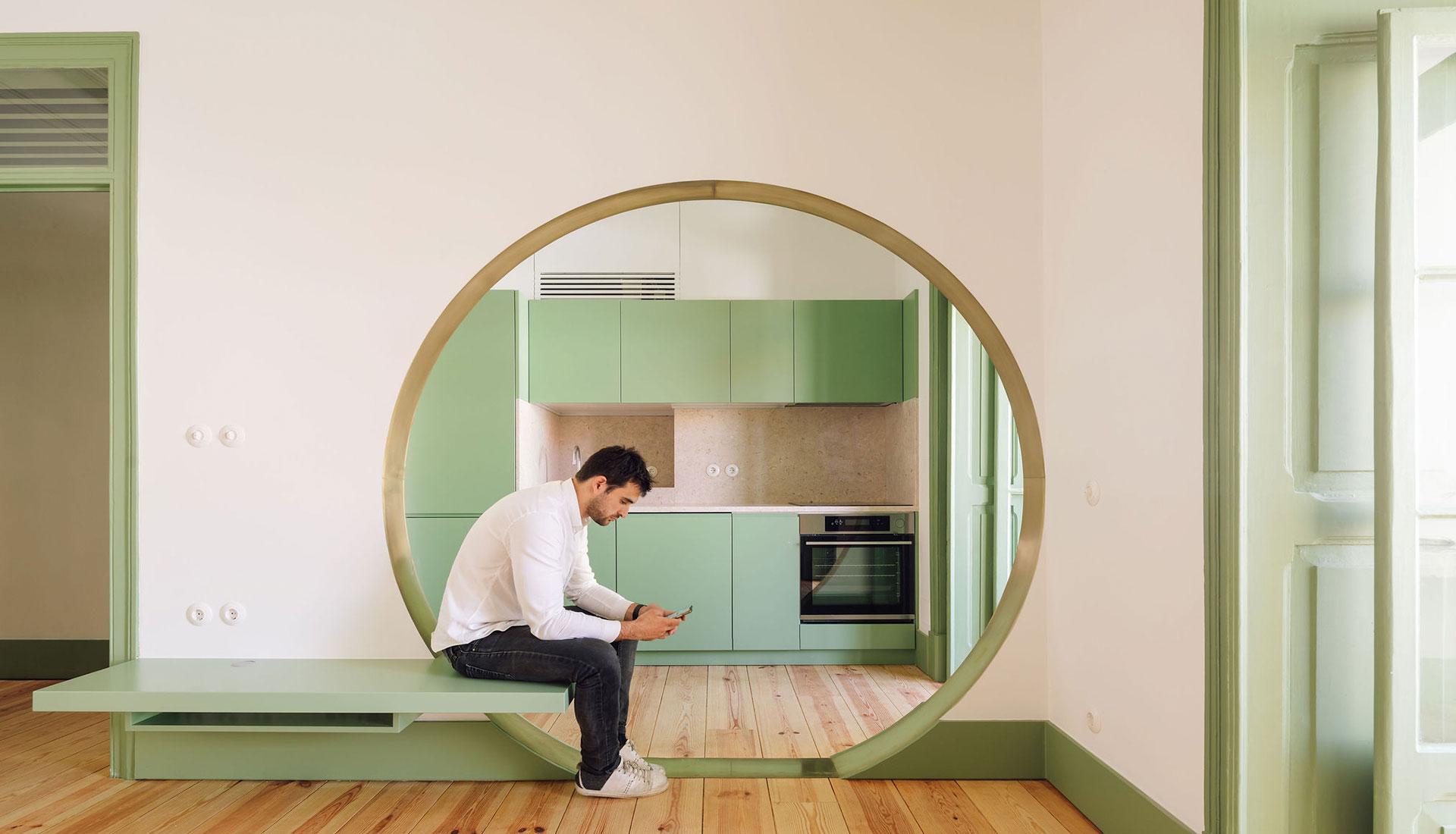 Зеленая квартира в Лиссабоне