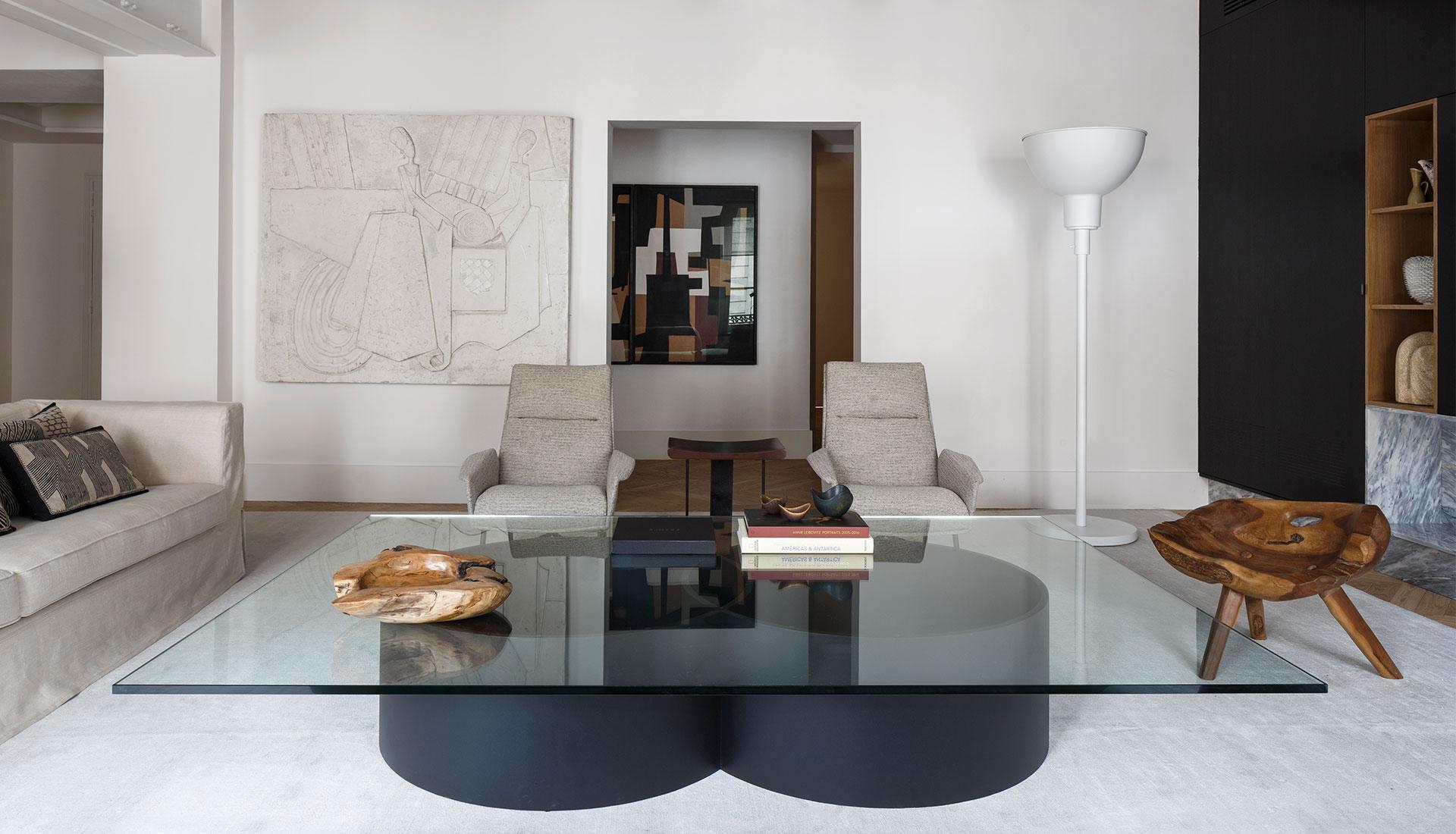 Studio Arthur Casas: семейная квартира в Париже