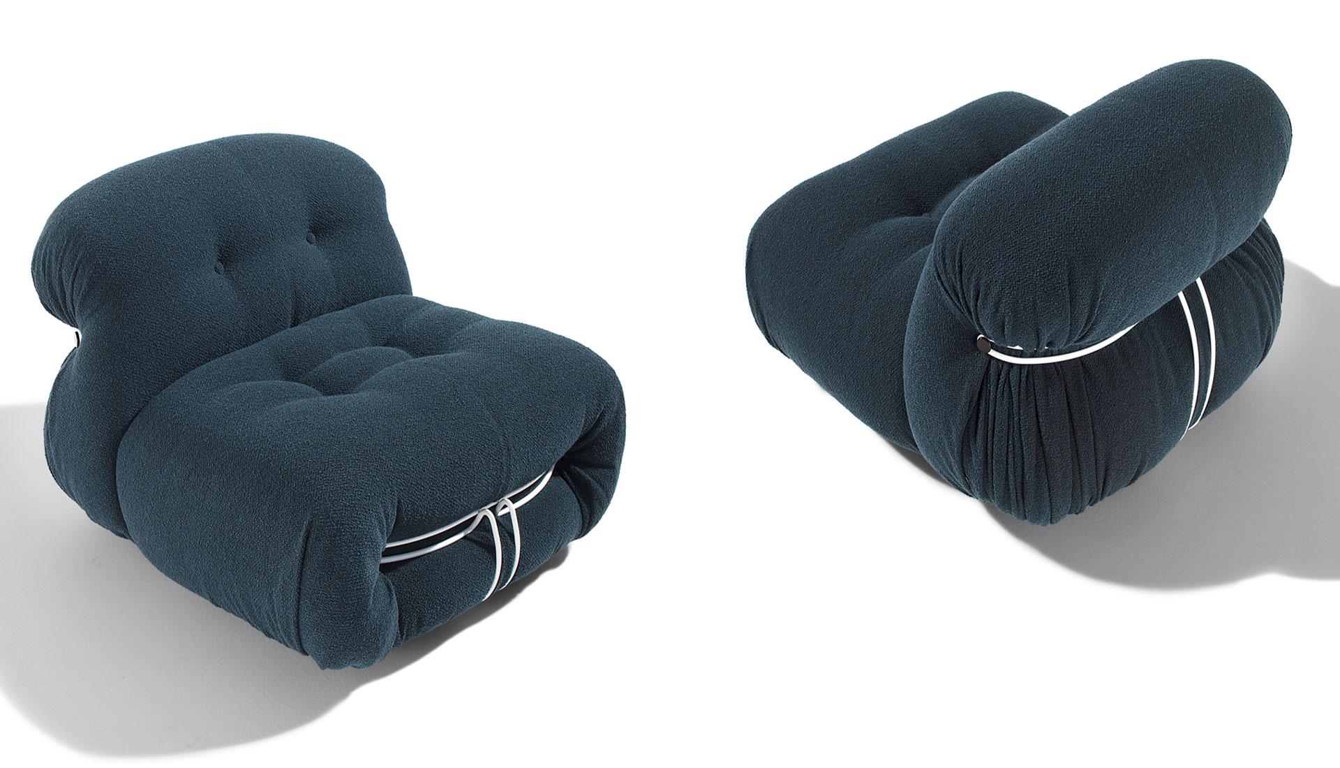 100 лет дизайна: диван и кресла Афры и Тобиа Скарпа