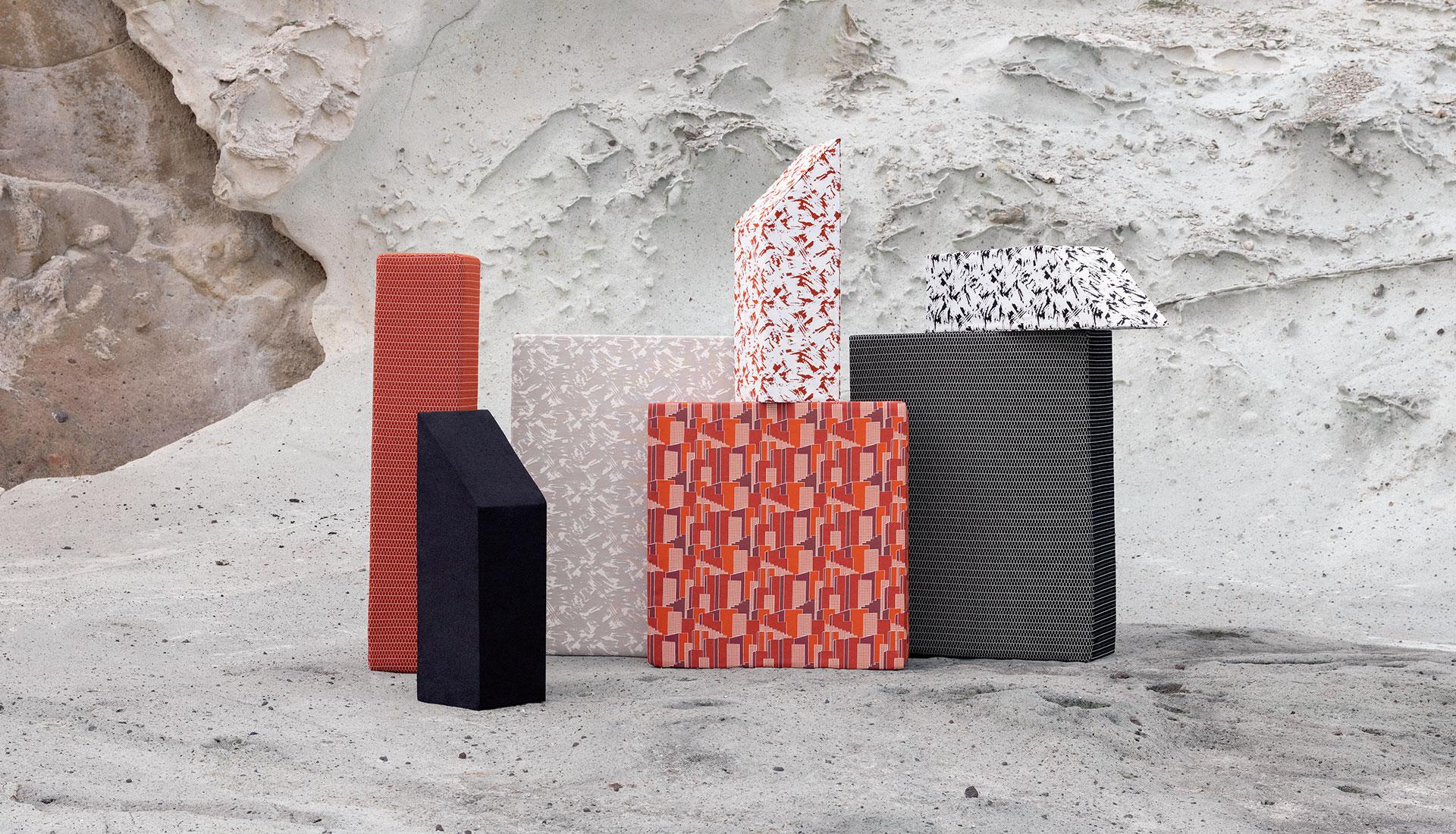 Elitis x Studiopepe: текстиль для улицы в духе итальянской радикальной архитектуры