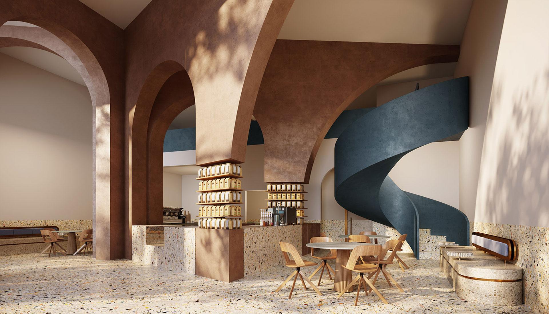 AZAZ Architects: кофейня в Саудовской Аравии
