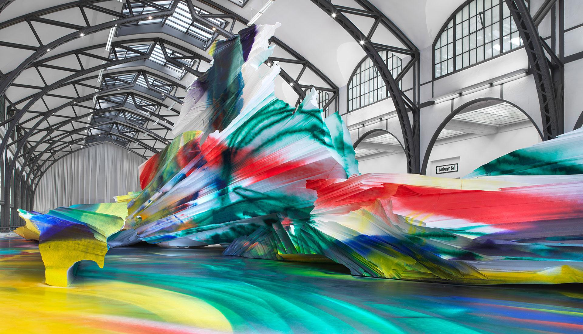 Выставка Катарины Гроссе в Берлинском музее современности